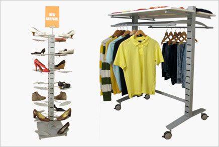 סטנדים - מערכות תצוגה לבגדים וקטלוגים
